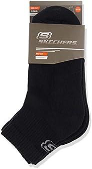 Skechers, Unisex, Padded Mid Cut Socks 3 Pack, Spor Çorabı