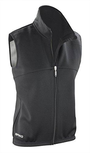 Spiro - Manteau sans manche de sport - Femme Noir - Black/ Black