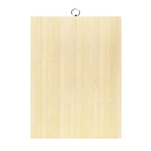 Tablas Cortar Bambú Cocina Profesional adecuado Carne,Pan,Quesos,Verduras,30×40×1.8cm