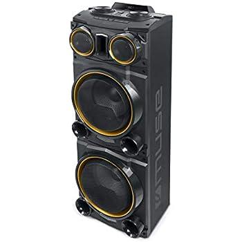 Muse M-1985 DJ PA-Anlage 800 W, mit Bluetooth und Licht