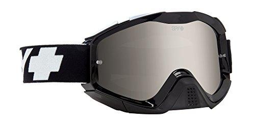 Spy MX Goggle Klutch SE Black - Smoke W/Silver Mirror +Clear Afp, One Size