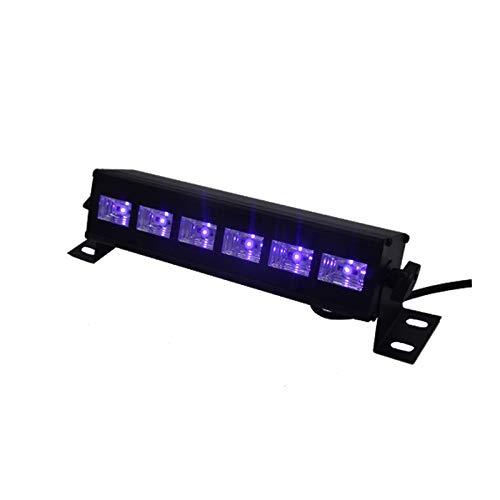 mpe, 36 W UV-LED-Schwarzstreifen Mit Fernbedienung Sowie UV-Party-Lampen-Wandstreifen Mit Um 360 ° Verstellbarer Halterung Für Disco, Fluoreszierendes Plakat, Neon,S ()
