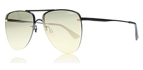 Le Specs Prinz Wohnung Objektiv Sonnenbrillen uni Schwarz