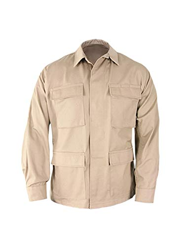 Propper Unisex-Erwachsene Uniform BDU Coat Hosen, Khaki, X-Large Long - Khaki-uniform Hose