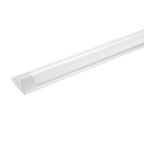 LED-Schrank-Licht,LED-Streifen-Licht, Super helles, LED-Deckenleuchte Supermarktbeleuchtung,120CM 4800LM,für Badzimmer Wohnzimmer Küche Garage Lager Werkstatt(Neutralweiß, 40W)