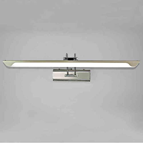 AK Badezimmer-Spiegel-Licht, Spiegel-Licht, geführtes modernes minimalistisches Badezimmer-Badezimmer-Spiegel-Lampen-Edelstahl-Toiletten-Kamm-Schminkspiegel-Kabinett-Wand-Lampe, Haushalts-Badezimmer-