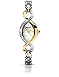 Sekonda Women's Quartz Watch with Mother of Pearl Dial Analogue Display and Multi-Colour Bracelet 2017.27
