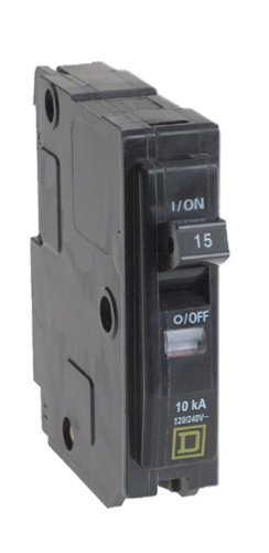 15 Amp Single Pole (15 Amp Single Pole Qo Breaker by Connecticut Electric)