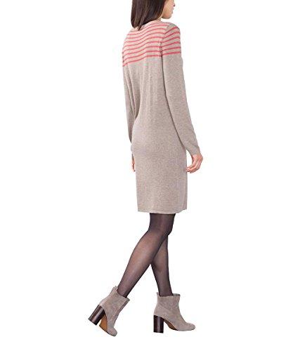 edc by Esprit 086cc1e020, Robe Femme Marron (TAUPE 240)
