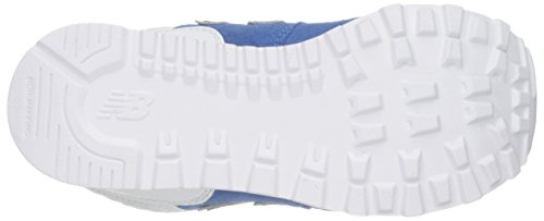 New Balance KL574V1 Pre Breathe Pack Fashion Sneaker (Little Kid), Blue/Grey, 1 M US Little Kid Blue/Grey
