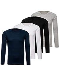 Amazon.es  camisetas lisas - Hombre  Ropa 613b816505a