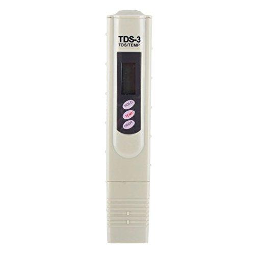 Tds / ppm Digitales Messgerät zur Messung der Leitfähigkeit / Härte von Wasser einfach und schnell bestimmen automatische Abschaltung: 10 Minuten