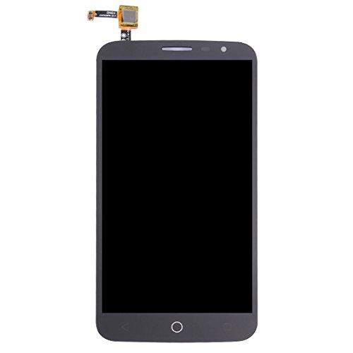 Foto Fealliancement LCD Screen Repaire e Pezzi di Ricambio Schermo LCD e digitalizzatore Assemblaggio Completo per Alcatel One Touch Hero 2C / 7055 (Nero) (Colore : Black)