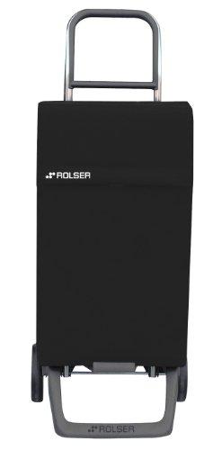 Einkaufstrolley schwarz - Ein Rolser Einkaufsroller schwarz Joy