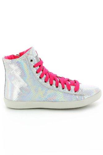 Go Tendance, Damen Sneaker Rosa - Rose Fluo