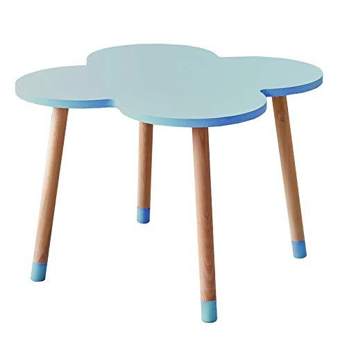 ZY Children's table and chair Massivholz kindertisch und Stuhl Set, kindermöbel Set stühle mit natürlichen holzbeinen, esszimmer/Studie/aktivität Tisch schön und langlebig -