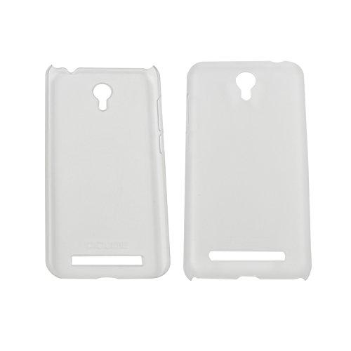 Guran® Hart Plastik Schutzhülle Case Cover für UMI Touch Smartphone Hülle Handytasche Etui-transparent weiß