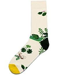 Mini elettrodomestici Pentole e padelle FHCGWZ 5 Pezzi/Set Fashion 3D Socks for Women Men White