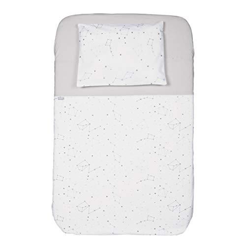 Chicco 3PCS Next2Me: federa cuscino + lenzuolo sotto + lenzuolo