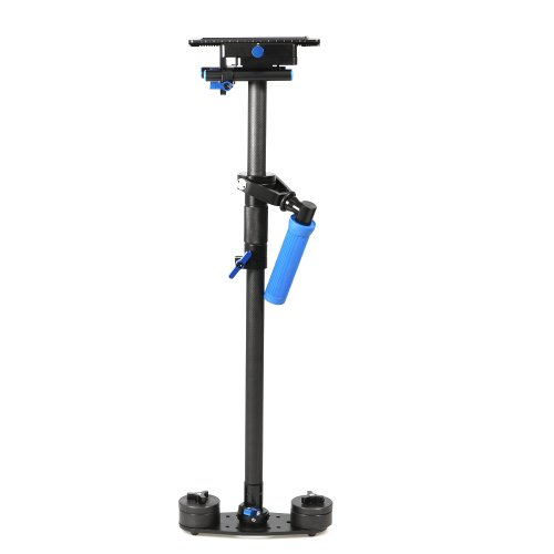 TARION OS03566 Kohlefaser Kompakt Schwebestativ Stabilisator für Kompakt Kamera/DSLR/Video