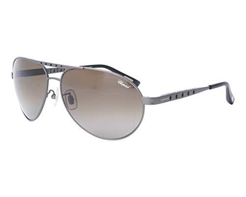 Chopard Sonnenbrillen (SCH-B-01-M 8G3Z) matt gun metall - grau verlaufend polarisierte