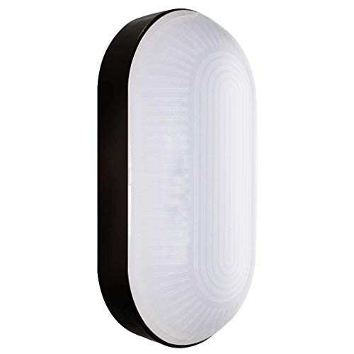 Kellerlampe LED Ovalleuchte Kellerleuchte LED Oktaplex lighting 4000K 900lm Neutralweiß Base Oval...