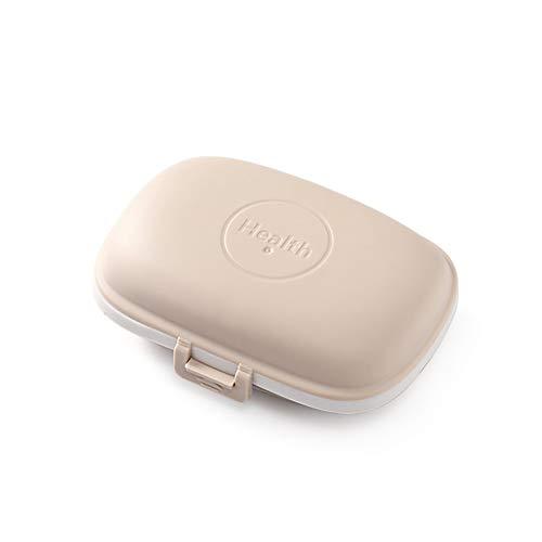 Pill Organizer Box, eine Woche tragbare Mini-Pille, mit feuchtigkeitsfestem Design für Taschen,1