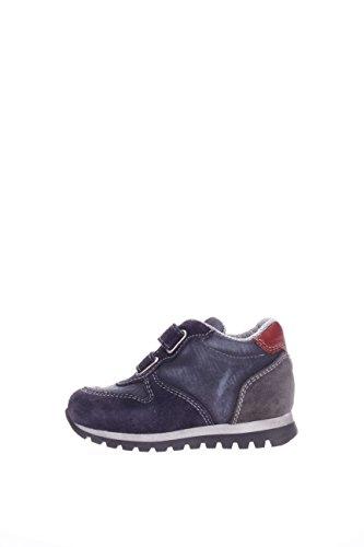 Nero Giardini Junior Kinder Sneaker a623950m-200Sneaker mit Klettverschluss Blau