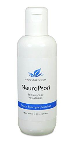 Naturprodukte Schwarz - NeuroPsori Dusch Shampoo Sensitive, 150ml - Schwarz Holunder-extrakt