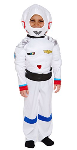 Henbrandt Kinder Space Boy Kostüm 4-12Jahren Fancy Dress Party Welt Buch Tag/Woche