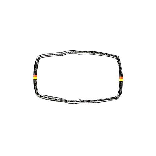 Vosarea Autocollant décoratif en Fibre de Carbone pour BMW Série 3 E90 E92 E93