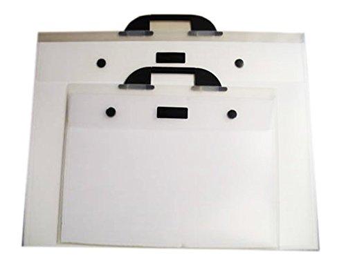West Design DKTGA1CL Westfolio - Sammelmappe mit großer Seitenfalte, DIN A1, Typ G, transparent