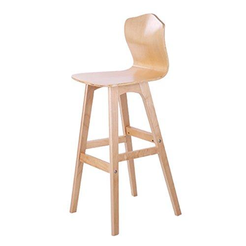 Xia Xia Massivholz Barhocker Barhocker Nordic Creative Hochstuhl Hocker Esszimmerstuhl Hochstuhl Modern Einfache Front Desk Chair (Front Massivholz)