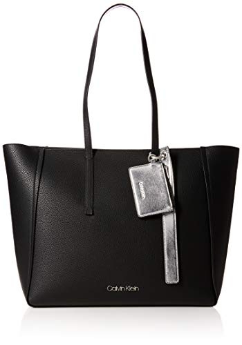 Calvin Klein Jeans Ck Base Large Shopper, Women s Shoulder Bag, Black,  16x32x50 cm 9746960311f