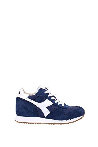Diadora heritage trident w nyl di colore blu denim sneakers donna scarpe sportive donna blue dark denim sneakers diadora made in italy, 40