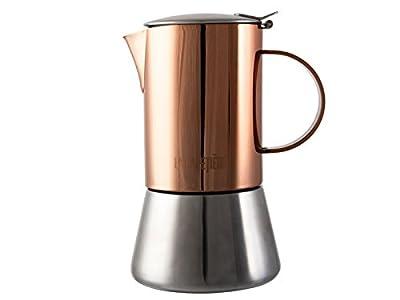 La Cafetière Edited Induction-Safe Stainless Steel Stovetop Espresso Maker