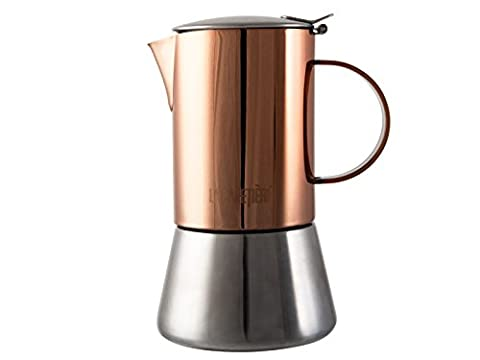 La Cafetière Edited 4 Cup Stovetop, Copper