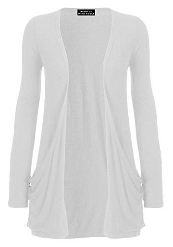VIP Damen Pullover Weiß
