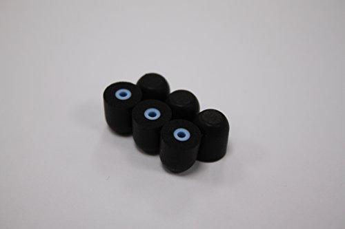 earfoams®-Original Ersatz Tipps für Memory-Schaum Isolieren® Mini Gehörschutz (3x Paare) (Extra Klein) -