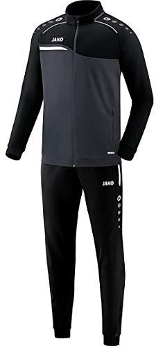 JAKO Herren Competition 2.0 Trainingsanzug Polyester, anthrazit/Schwarz, L
