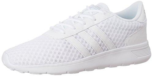 adidas Damen Lite Racer W Sneaker Low Hals, Elfenbein (Ftwbla/Ftwbla/Plamat), 39 1/3 EU