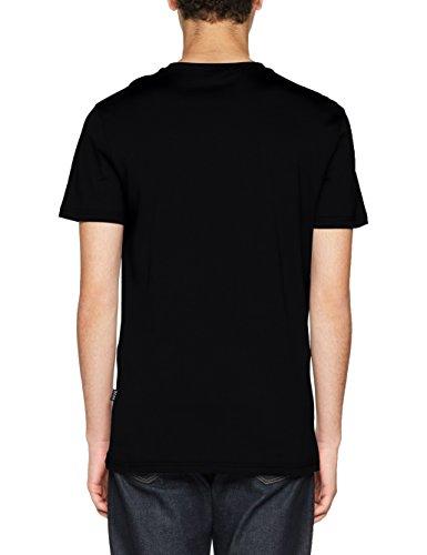 Hugo Boss Herren T-Shirt RN Schwarz (Black 007)