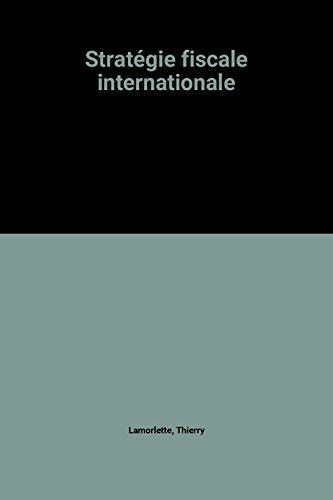 Stratégie fiscale internationale