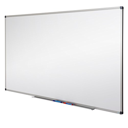 MOB Whiteboard - Sieger Preis-Leistung - 13 Größen wählbar - Magnettafel beschreibbar - Magnetwand mit Alurahmen, magnetisch (60 x 90 cm)