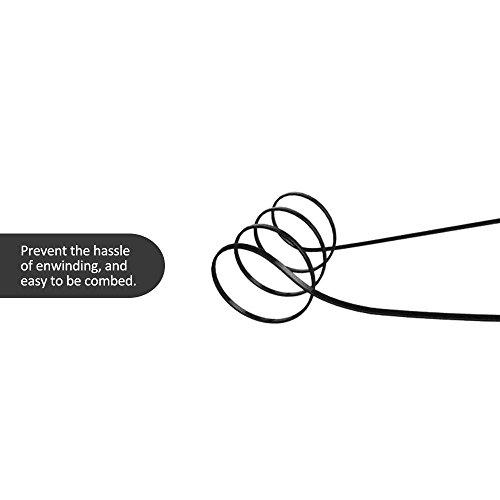 Tsing Auricolari Wireless Bluetooth 4.1 A2DP Stereo Cuffie In-Ear Enhanced Bass (Bassi Rafforzati) Earphone Bluetooth Sport con Microfono, Vivavoce per iPhone 6 Plus 6 5S 5C 5, Samsung Galaxy S4 S5 S6 Note 4 3, HTC ONE M7 M8, Sony Xperia Z3 Z2, LG G3 G2 Moto X Nokia ecc Nero