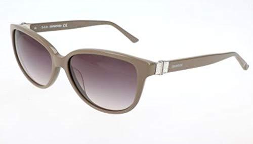 Swarovski Damen Sunglasses Sk0120 45B-56-14-140 Sonnenbrille, Grau, 56