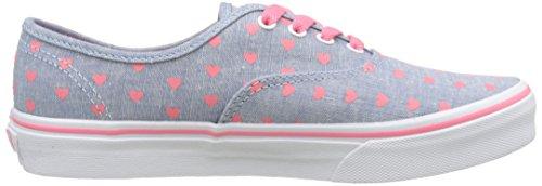Sneakers Blau Uy Branco Vans Azul Chambray corações Verdadeiro Autêntica Mädchen tq1nwIT