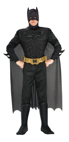 Imagen de batman i 880671m  costume de luxe, disfraz de batman para adulto talla m  alternativa