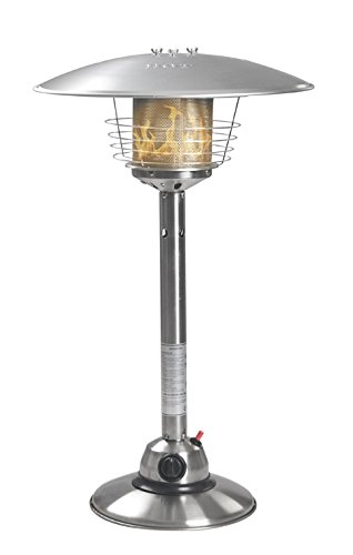 Firefly 4KW Premium Stainless Steel Table Top Garden Outdoor Gas Patio Heater