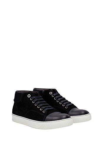 FMSKDBM1VVELA1510 Lanvin Sneakers Homme Chamois Noir Noir